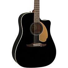 California Redondo Player Acoustic-Electric Guitar Jetty Black