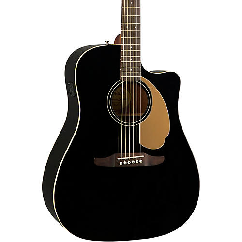 fender california redondo player acoustic electric guitar jetty black musician 39 s friend. Black Bedroom Furniture Sets. Home Design Ideas