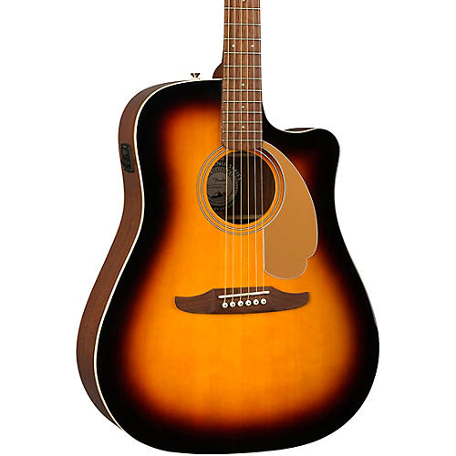 Fender California Redondo Player Acoustic-Electric Guitar Sunburst
