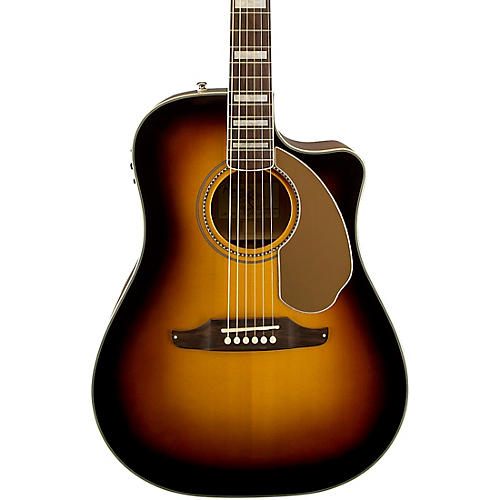 fender california series kingman asce cutaway dreadnought acoustic electric guitar musician 39 s. Black Bedroom Furniture Sets. Home Design Ideas