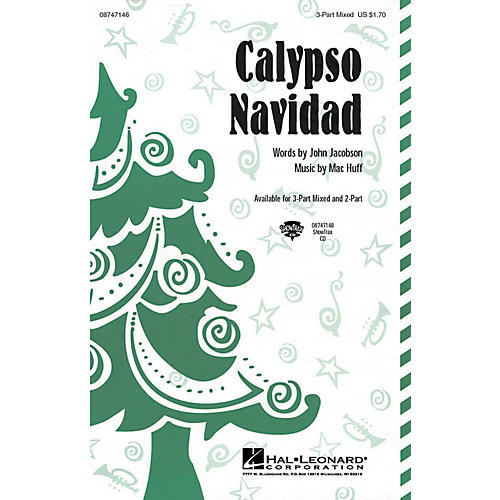 Hal Leonard Calypso Navidad 3-Part Mixed composed by John Jacobson, Mac Huff