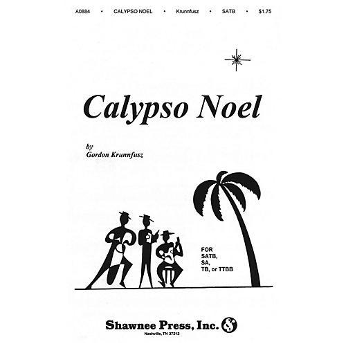 Shawnee Press Calypso Noel (Based on Matthew 1) SATB composed by Gordon Krunnfusz