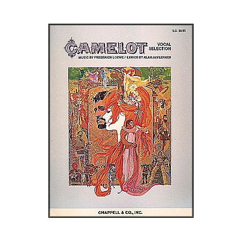 Hal Leonard Camelot Vocal Selections arranged for piano, vocal, and guitar (P/V/G)