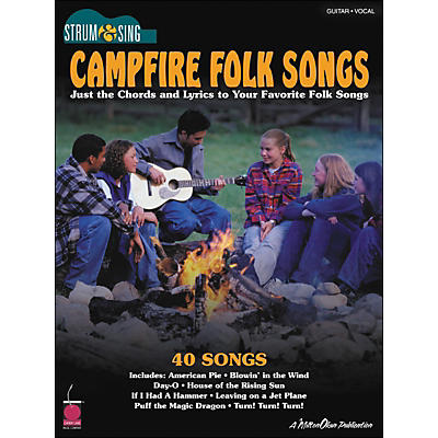 Cherry Lane Campfire Folk Songs - Strum & Sing Series for Easy Guitar