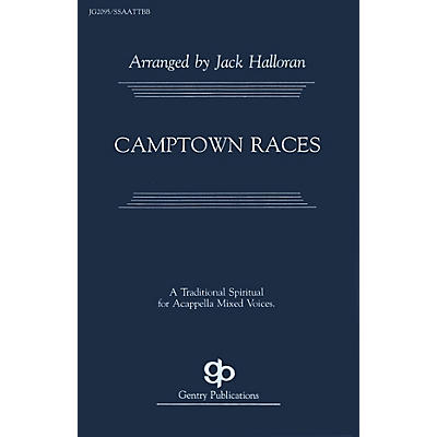 Fred Bock Music Camptown Races SATB arranged by Jack Halloran