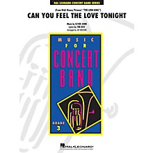 Hal Leonard Can You Feel the Love Tonight - Young Concert Band Series Level 3 arranged by Jay Bocook