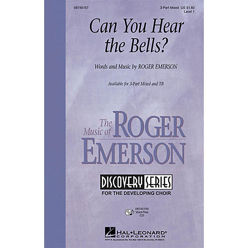 Hal Leonard Can You Hear the Bells? VoiceTrax CD Composed by Roger Emerson