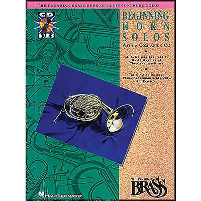 Hal Leonard Canadian Brass Beginning Horn CD Package