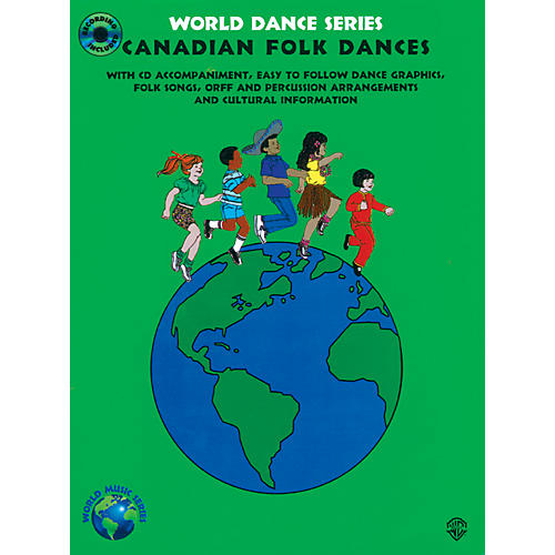 Warner Bros Canadian Folk Dances Book/CD