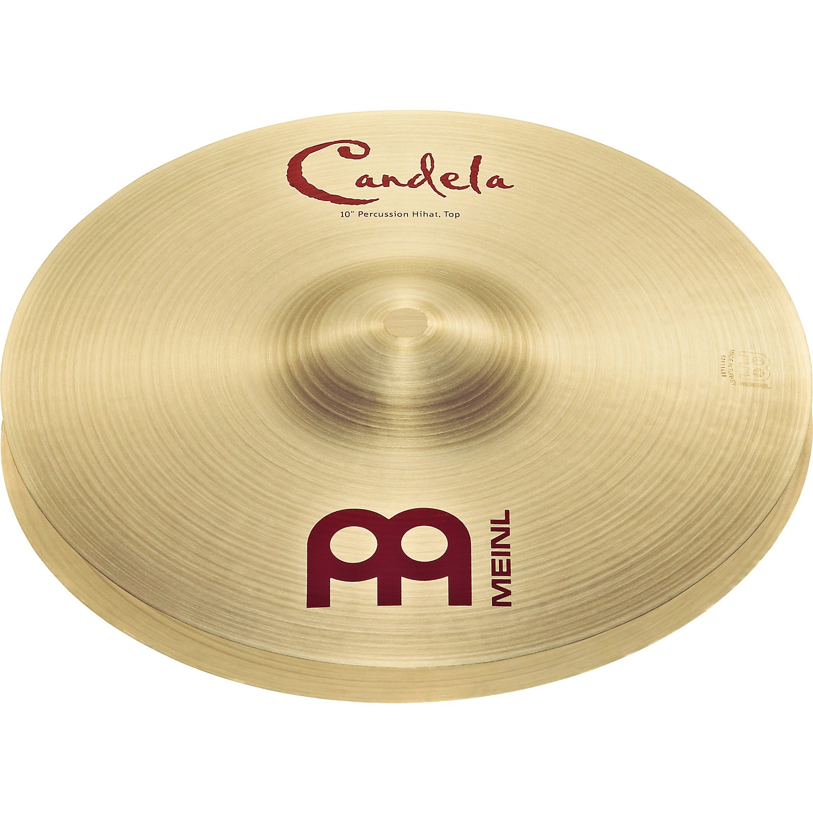 Meinl Candela Percussion Hi-hats