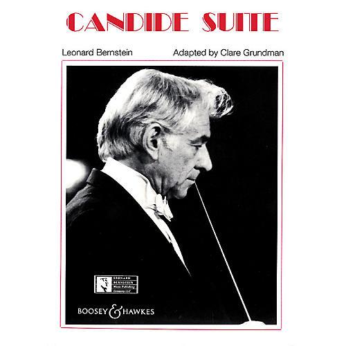 Leonard Bernstein Music Candide Suite Concert Band Arranged by Clare Grundman