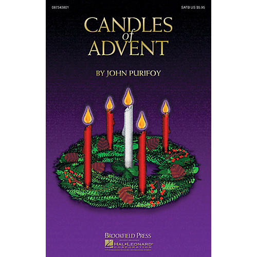 Brookfield Candles of Advent Preview Pak Arranged by John Purifoy