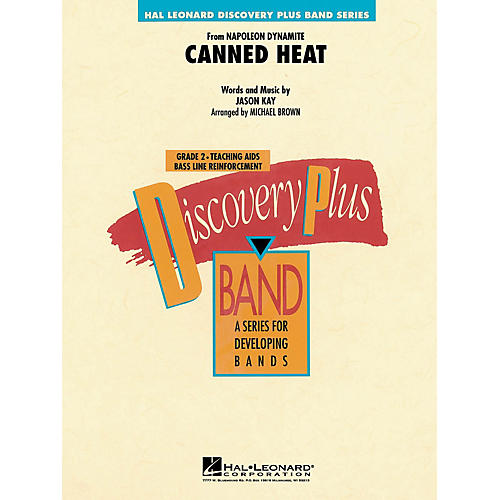 Hal Leonard Canned Heat - Discovery Plus Concert Band Series Level 2 arranged by Michael Brown