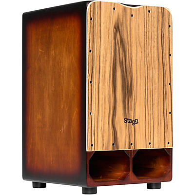 Stagg Cannon Cajon with Extra Bass Punch
