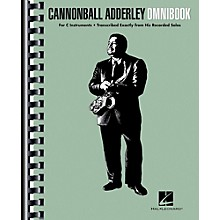 Hal Leonard Cannonball Adderley - Omnibook for C Instruments