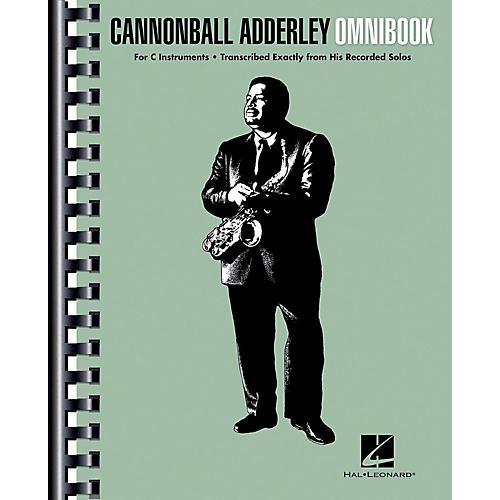 Hal Leonard Cannonball Adderley - Omnibook for C Instruments