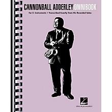 Hal Leonard Cannonball Adderley - Omnibook for E-Flat Instruments