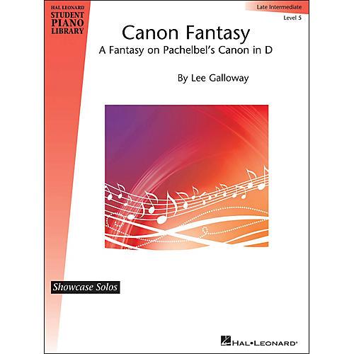 Hal Leonard Canon Fantasy - Fantasy On Pachelbel's Canon In D - Hlspl Showcase Solo Level 5