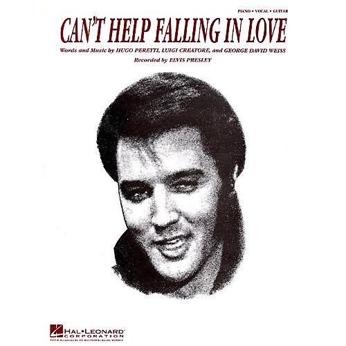Hal Leonard Can't Help Falling in Love Easy Piano Series Performed by Elvis Presley (Easy)