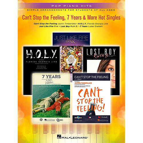 Hal Leonard Can't Stop the Feeling, 7 Years & More Hot Singles