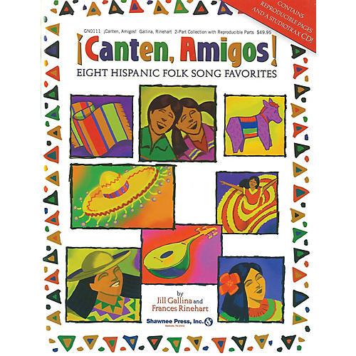 Shawnee Press Canten, Amigos! (Eight Hispanic Folk Song Favorites) CLASSRM KIT