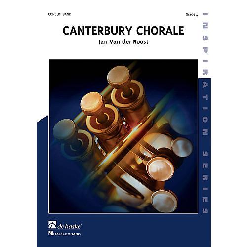 De Haske Music Canterbury Chorale Concert Band Level 3 Composed by Jan Van der Roost