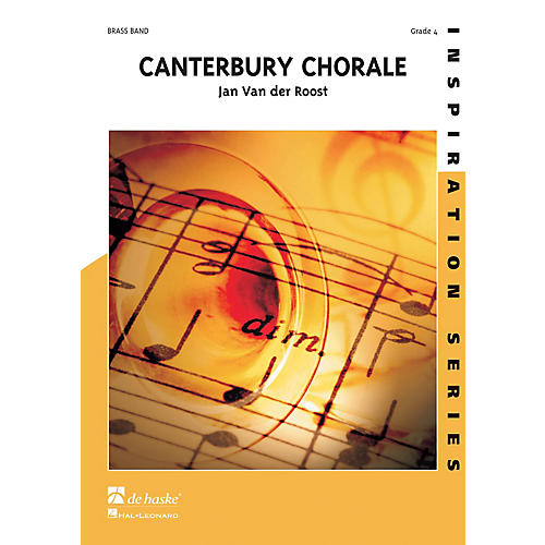 Hal Leonard Canterbury Chorale Score Only Concert Band