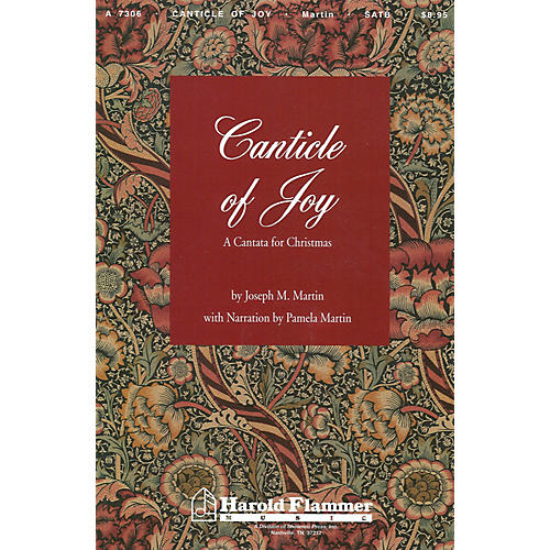 Shawnee Press Canticle of Joy Performance/Accompaniment CD Composed by Joseph M. Martin