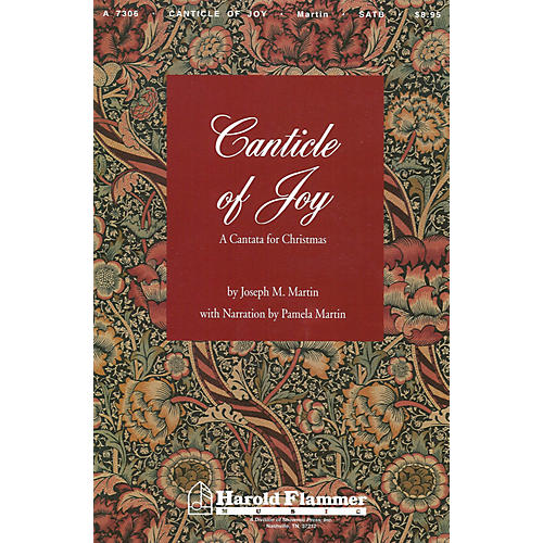 Shawnee Press Canticle of Joy SATB composed by Joseph M. Martin