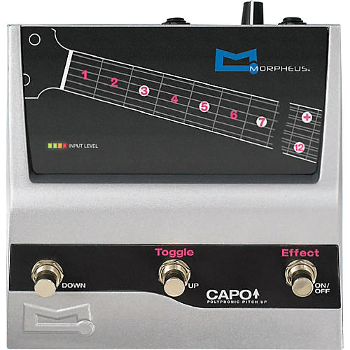 Morpheus Capo Guitar Effects Pedal