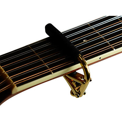 Shubb Capo Royale Series C3G Capo For 12 String Guitar, Gold Finish