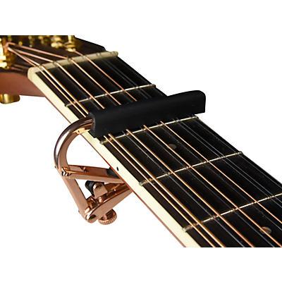 Shubb Capo Royale Series C3G-Rose Capo For 12 String Guitar, Rose Gold Finish