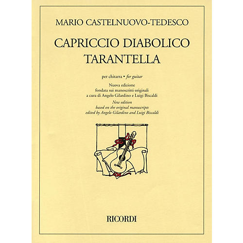 Ricordi Capriccio Diabolico and Tarantella (New Edition for Solo Guitar) Guitar Series