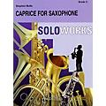 Curnow Music Caprice for Saxophone (with Concert Band) (Grade 3 - Score Only) Concert Band Level 3 by Stephen Bulla thumbnail