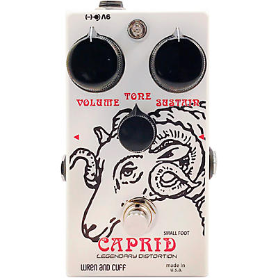 Wren And Cuff Caprid Small Foot Fuzz Effects Pedal