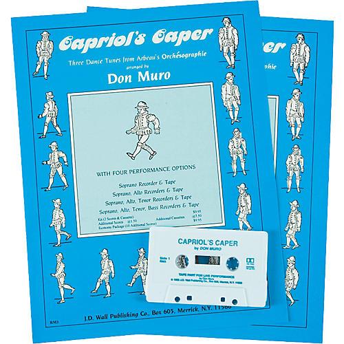Magnamusic Capriol's Caper 2 Scores with Cassette