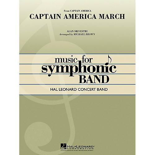Hal Leonard Captain America March - Hal Leonard Concert Band Series Level 4