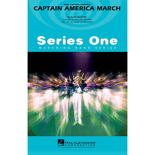 Hal Leonard Captain America March Marching Band Level 2 Arranged by Michael Brown