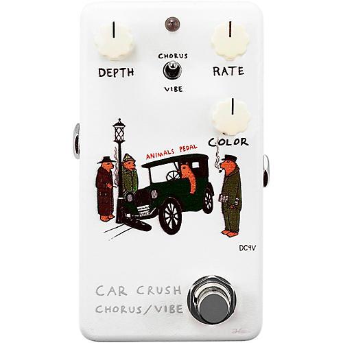 Animals Pedal Car Crush V2 Chorus/Vibe Effects Pedal White