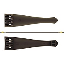 Carbon Composite Cello Tailpiece with Four Built-In Fine Tuners and Braided Steel Tailgut 4/4 - 7/8 Cello