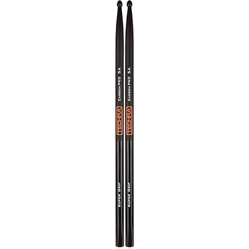 TECHRA Carbon Pro Super Grip Drum Sticks 5A