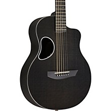 Carbon Series Touring Acoustic-Electric Guitar Silver Binding