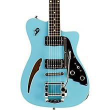 Caribou Semi-Hollow Electric Guitar Narvik Blue
