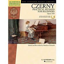 G. Schirmer Carl Czerny - Practical Method for Beginners, Op. 599 Schirmer Performance Edition BK/Audio Online
