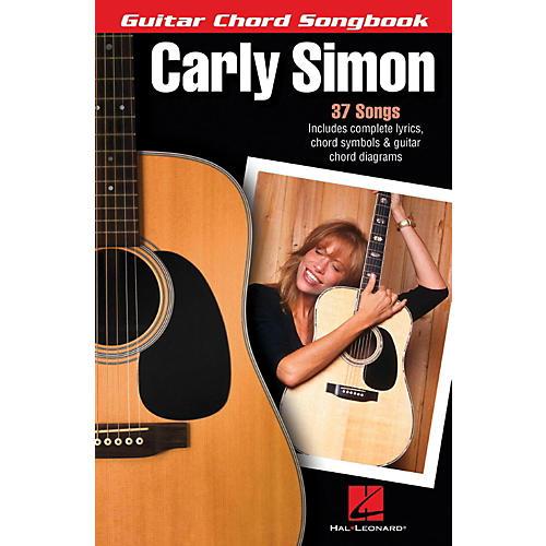 Hal Leonard Carly Simon - Guitar Chord Songbook