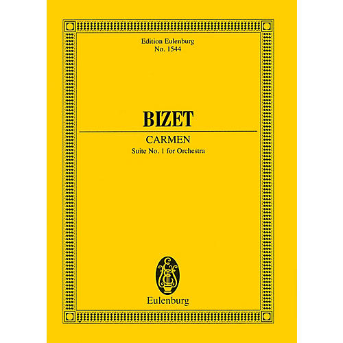 Eulenburg Carmen - Suite No. 1 for Orchestra Study Score Series Softcover Composed by Georges Bizet