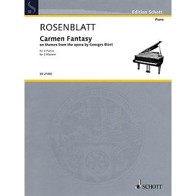Schott Carmen Fantasy Schott Series Composed by Alexander Rosenblatt
