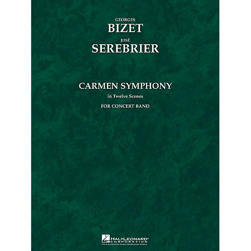 Hal Leonard Carmen Symphony (Score and Parts) Concert Band Level 5 Arranged by Jose Serebrier