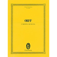 Eulenburg Carmina Burana Study Score Composed by Carl Orff Arranged by Werner Thomas