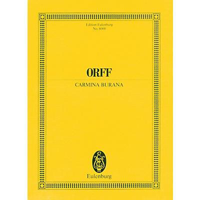 Eulenburg Carmina Burana Study Score Composed by Carl Orff Arranged by Werner Thomas